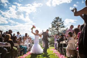 Estes Park Wedding Couple